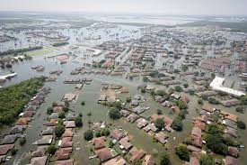 Subsidence can contribute to flooding in the Houston Region.